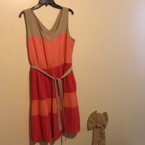 Limited pleated dress xl